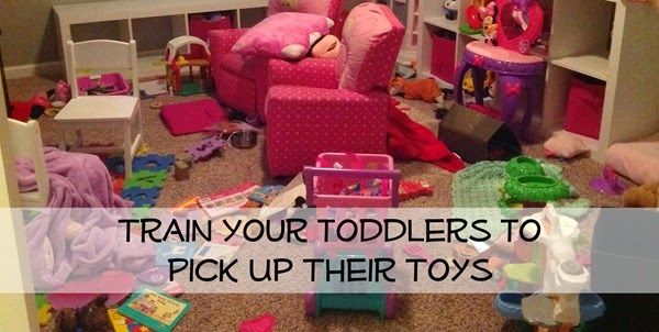 How to Train your Toddler to Pick up Their Toys (You Just ...
