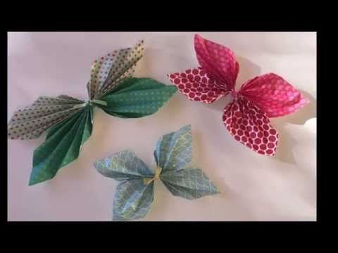 Mariposas para decorar - YouTube