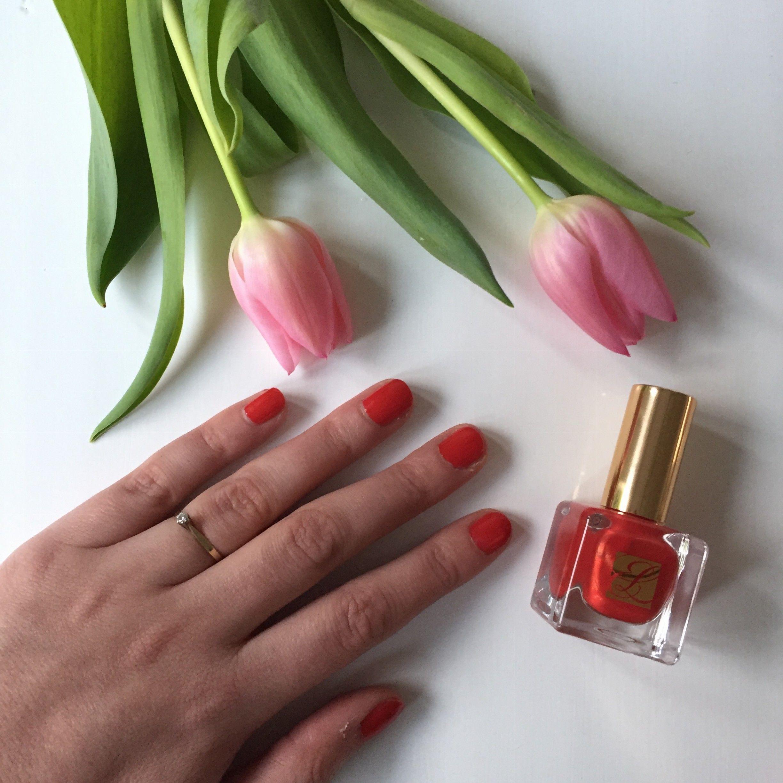Estée Lauder Pure Color Empowered nagellak #beautyloveresteelauder #glamourbeautylover