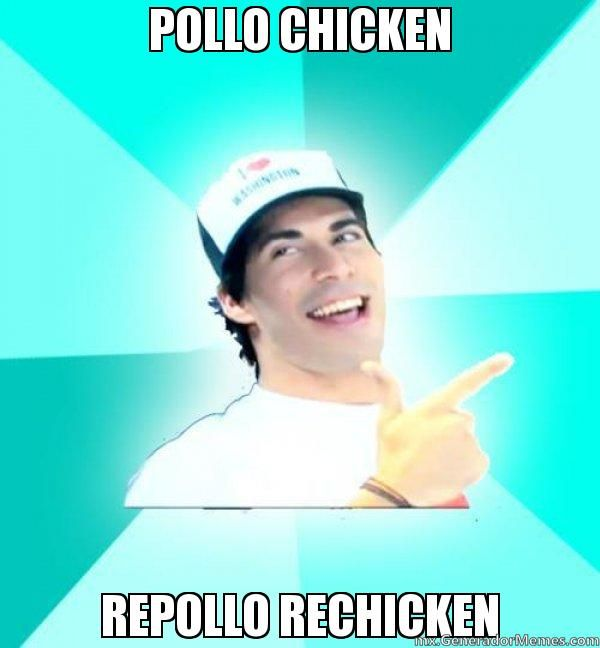 Pollo Chicken Repollo Rechicken Exito Memes Chistoso Exito