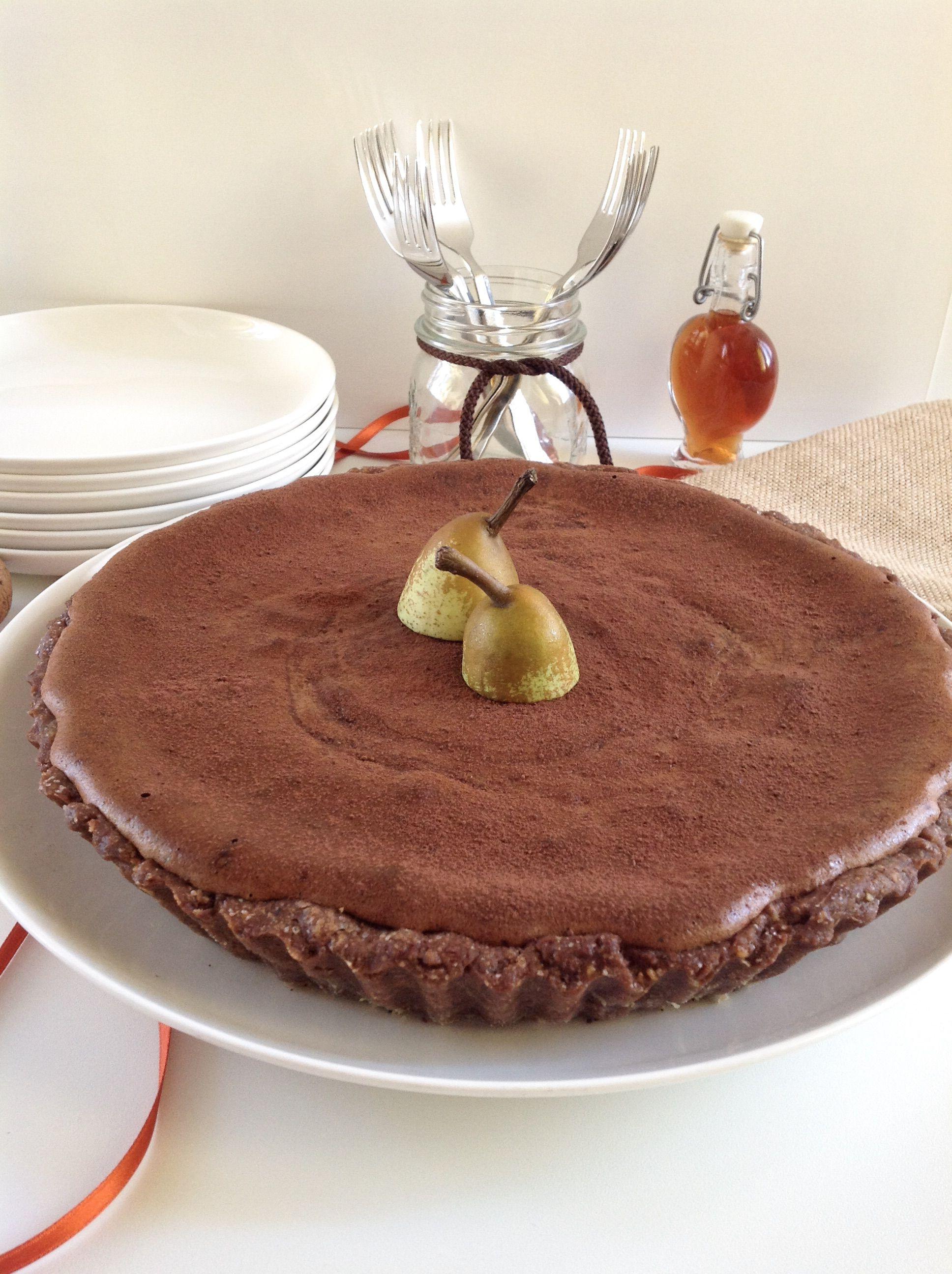 Photo of Crostata soufflé al cioccolato e pere   la cucina di Marta