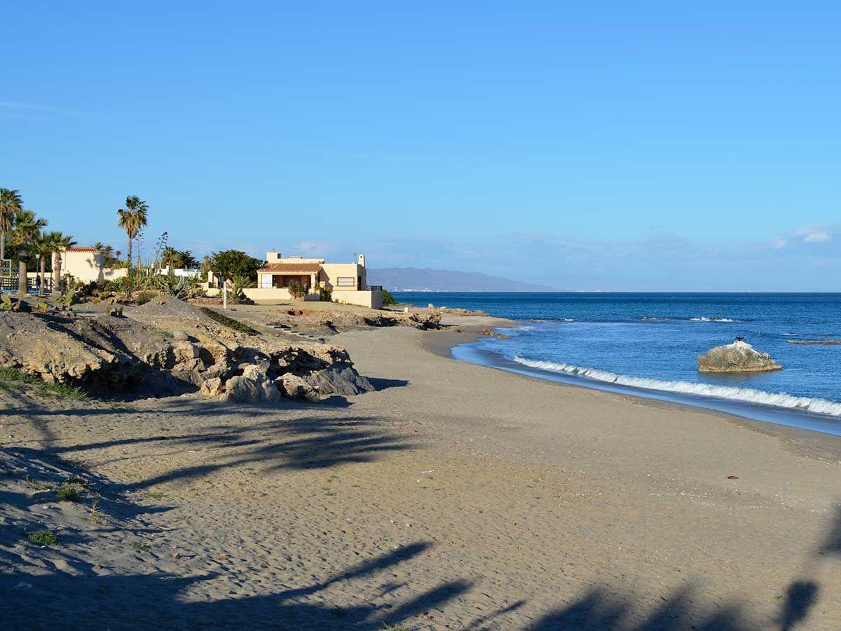 Playas De Mojácar Almeria De Costa Mojacar Costa De Almeria Almería