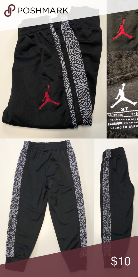 81f14ca7fbce83 Jordan Toddler Pants 3T Boys Jordan Toddler Pants Gently used. Excellent  condition. Size 3T. Jordan Bottoms Sweatpants   Joggers