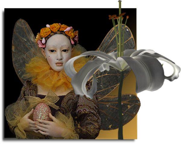 """Easter girl for T Juli"" by bjornine on Polyvore"