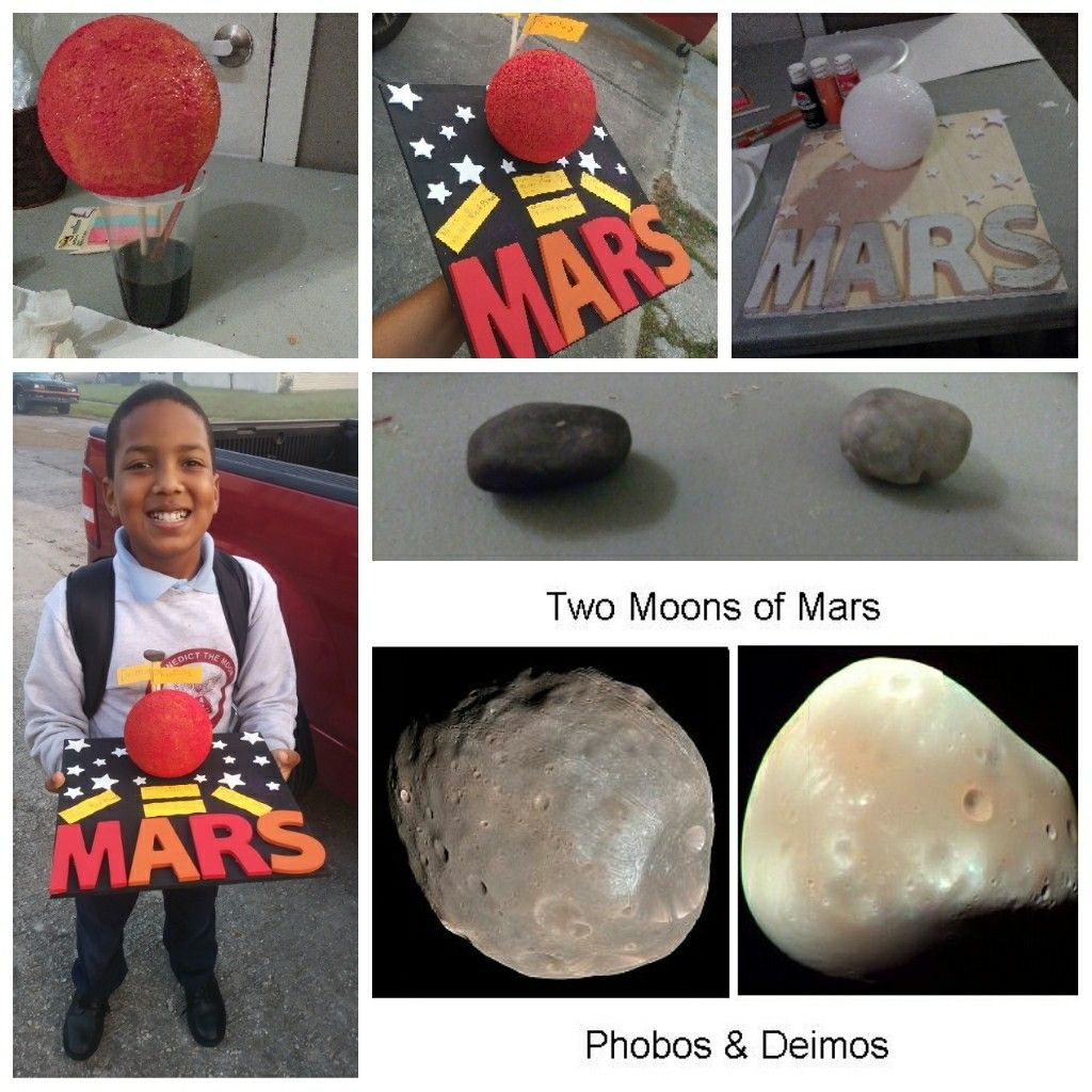 4th Grade Mars Science Project New Orleans