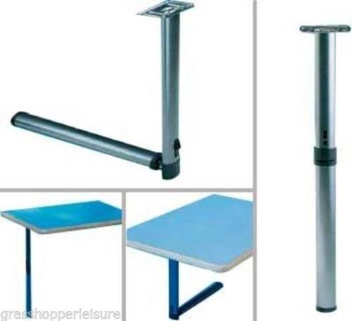 Details About Centre Folding Table Leg Caravan Campervan Motorhome