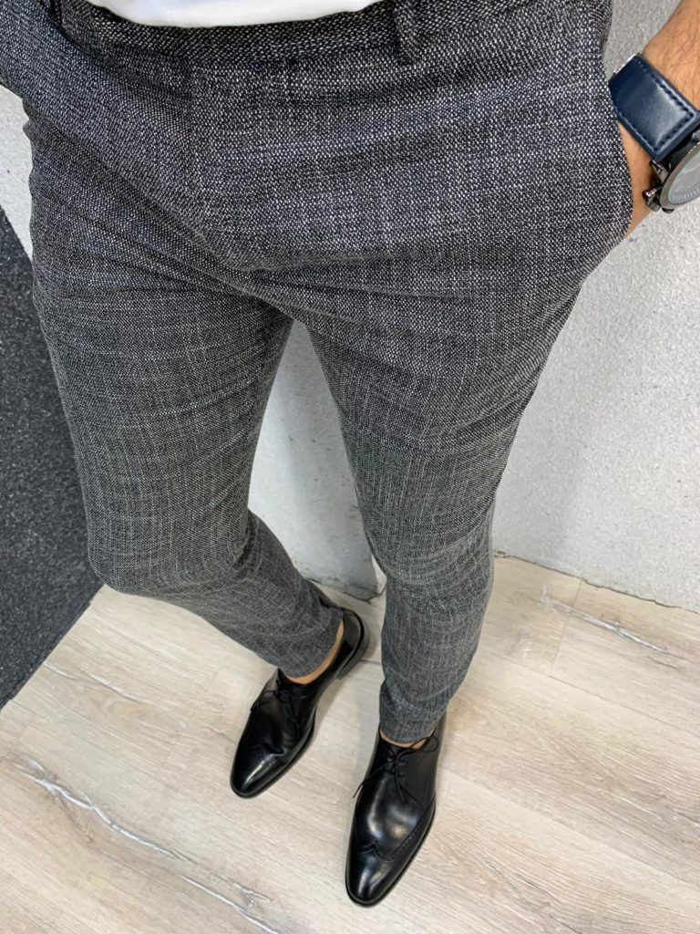 New Gray Canvas Trousers Aysoti in 2020 Pants, Canvas