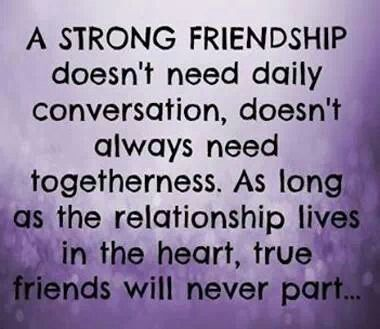 True friends..... this is very true.. a couple of my best ...
