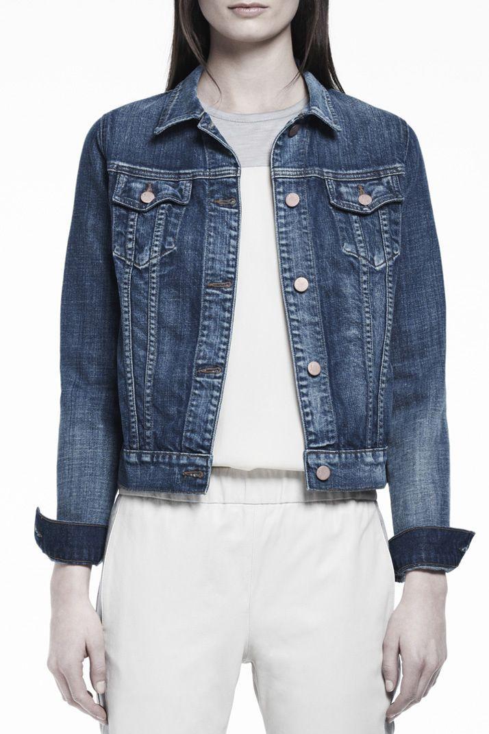 403 Slim Fitted Jacket   J Brand
