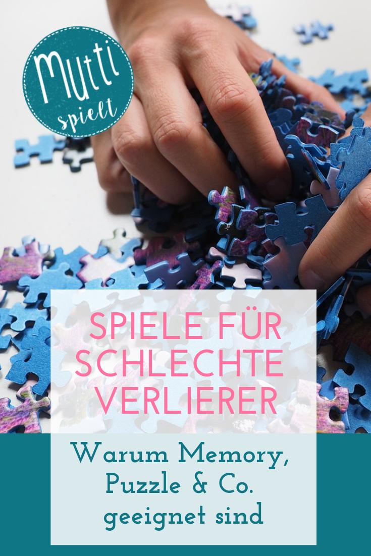 Spiele für schlechte Verlierer Warum Memory, Puzzle & Co