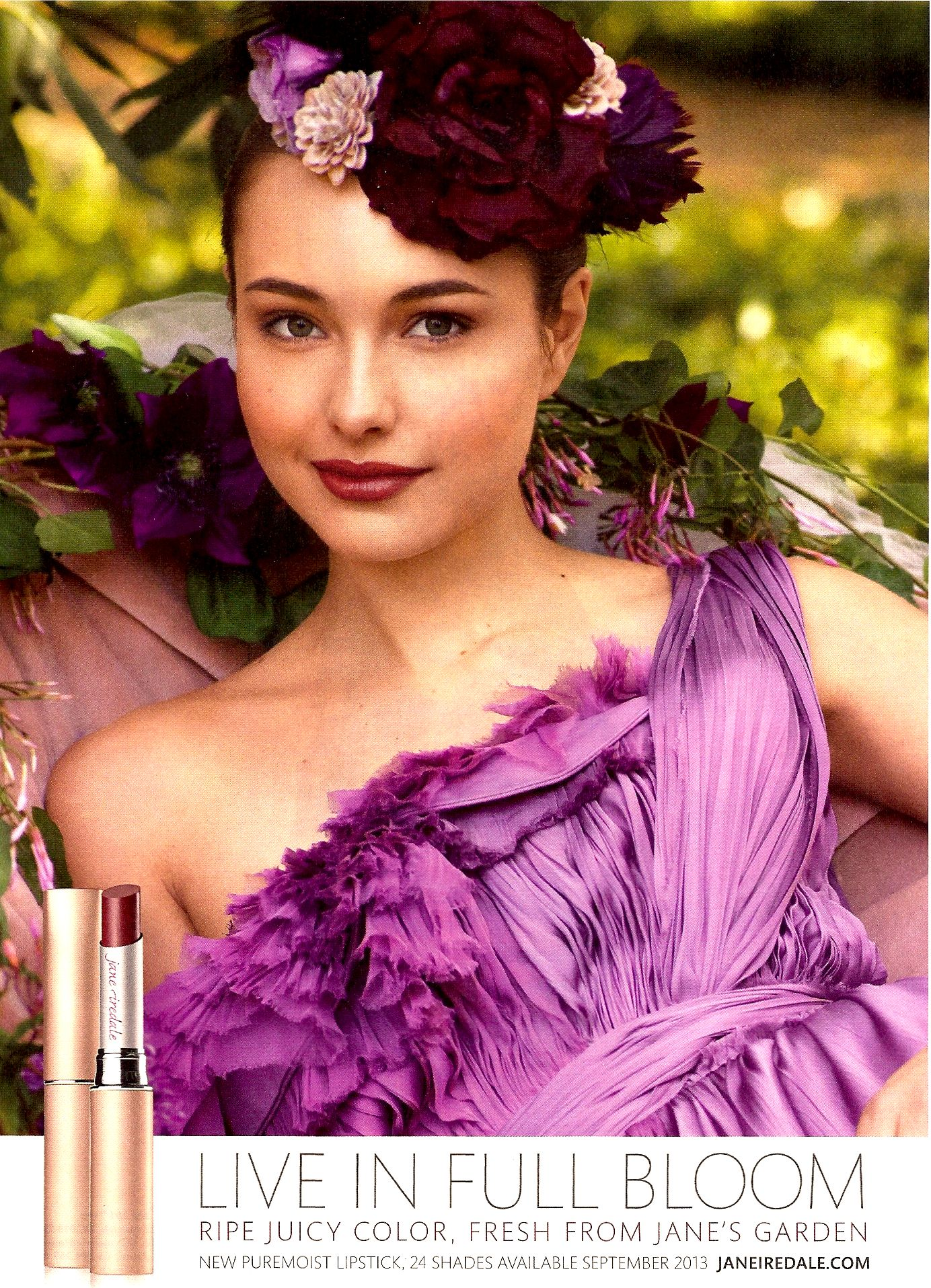 Jane Iredale Fall 2013 Lipstick colors, Fall makeup