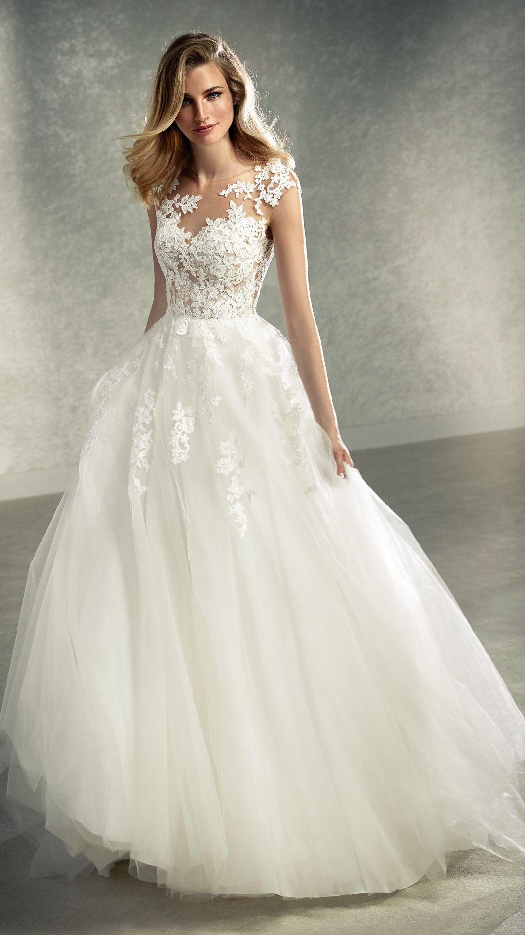 Hochzeitskleider 18 White One Kollektion Modell: FELICIDAD-B-18