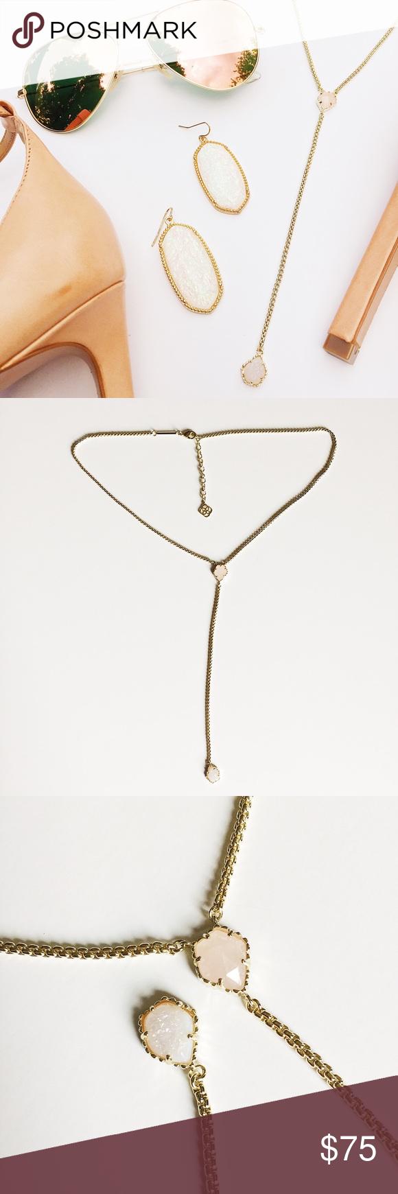 Kendra scott mason custom necklace stone kendra scott jewelry