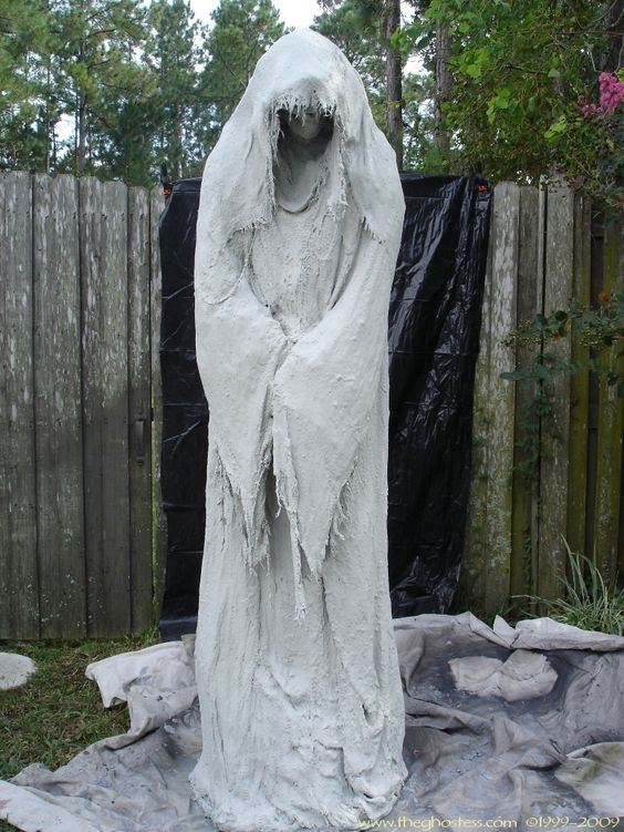 Awesome Ghost Holidays Pinterest Halloween ghost decorations - scary halloween props