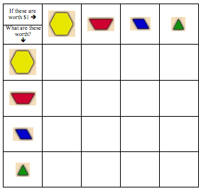 Pattern Block Fractions Png Fraction Activities Pattern Blocks
