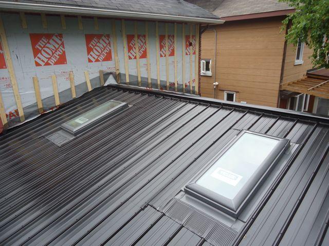 Skylights In Metal Roof Aluminum Roof Roof Skylight Fibreglass Roof