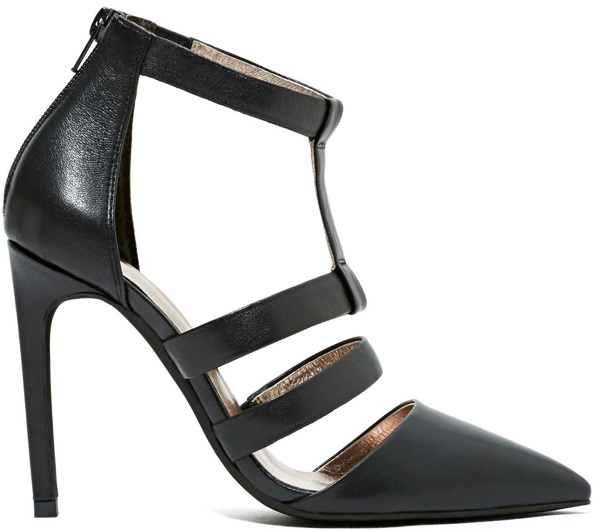 Jeffrey Campbell Black Tamarind Pump $155.00 #shoes #heels - CLICK HERE for more: http://www.needcuteshoes.com/products/jeffrey-campbell-black-tamarind-pump/