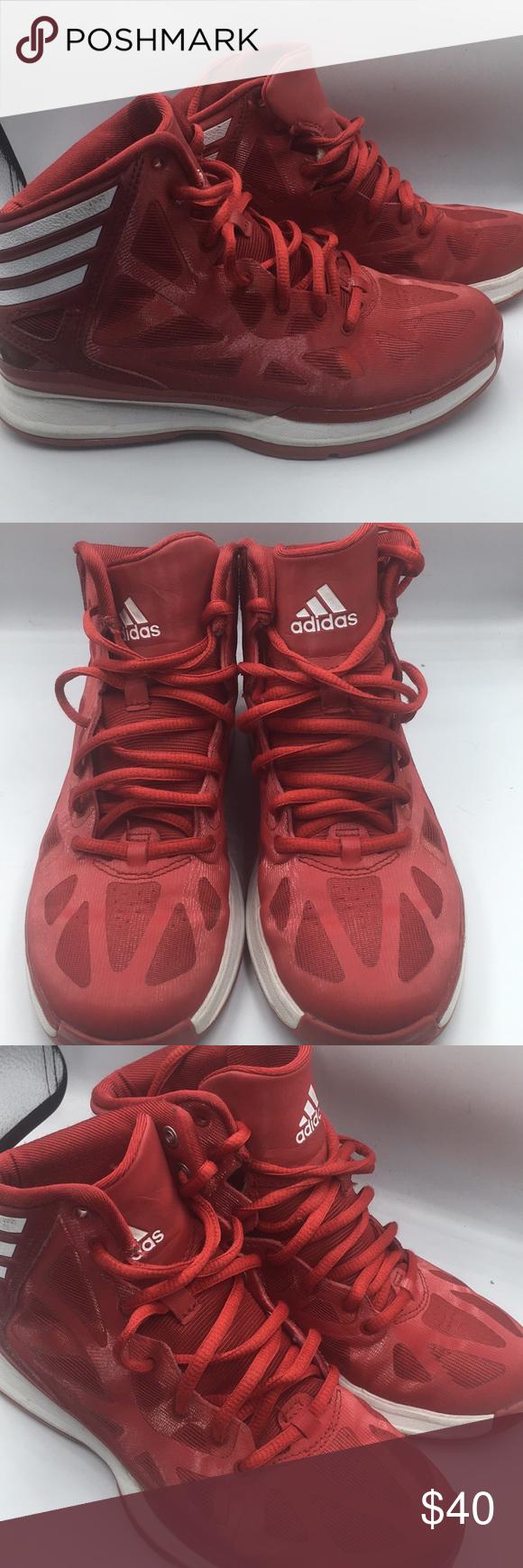 Cantidad de Componer Perezoso  Adidas Sprintframe Sprint Web Red Basketball Shoes | Red basketball shoes, Basketball  shoes, Shoes sneakers adidas