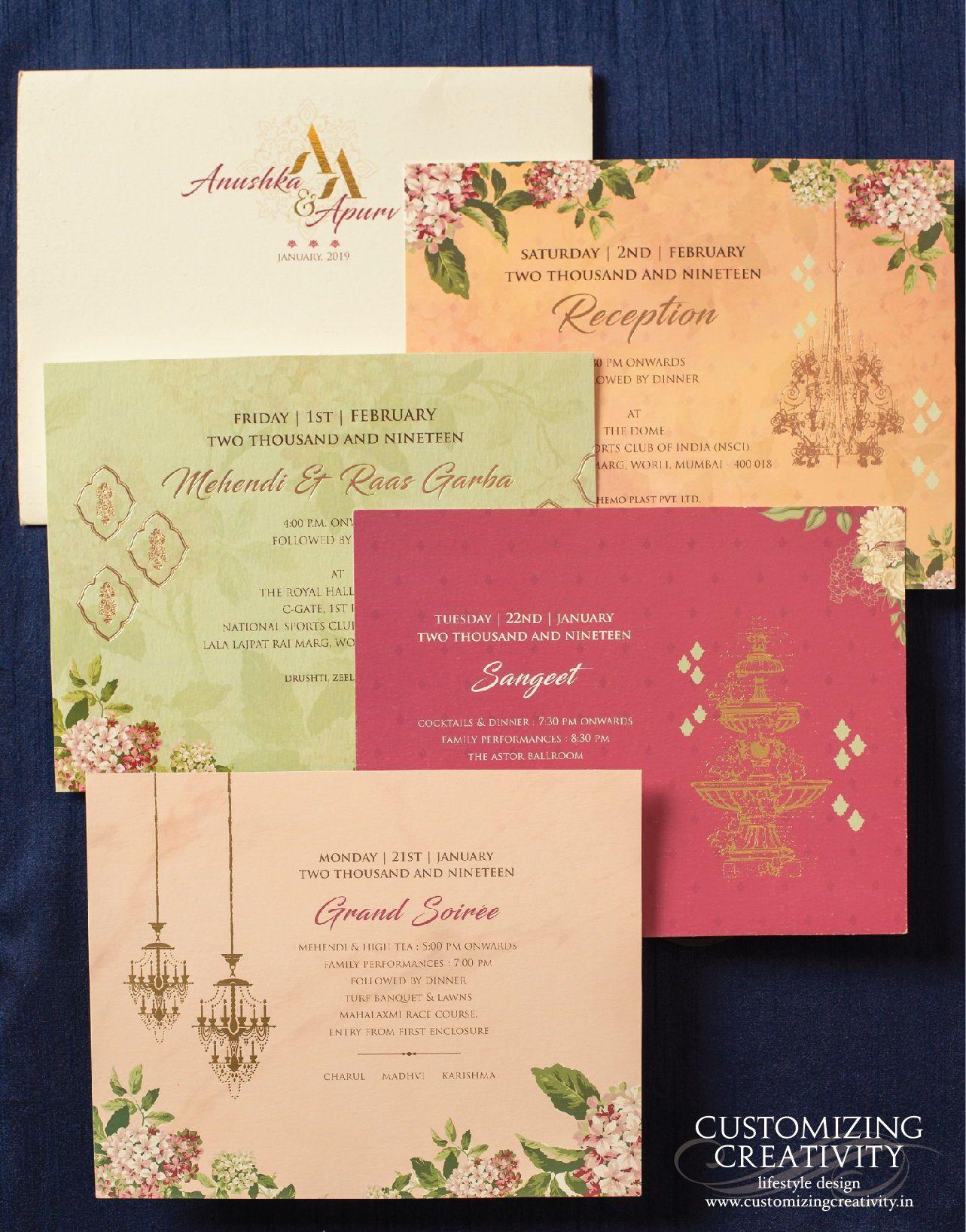 Wedding Invitations Wedding Logo Wedding Invite Wedding Stationery Custom Indian Wedding Invitation Cards Creative Wedding Invitations Simple Wedding Cards