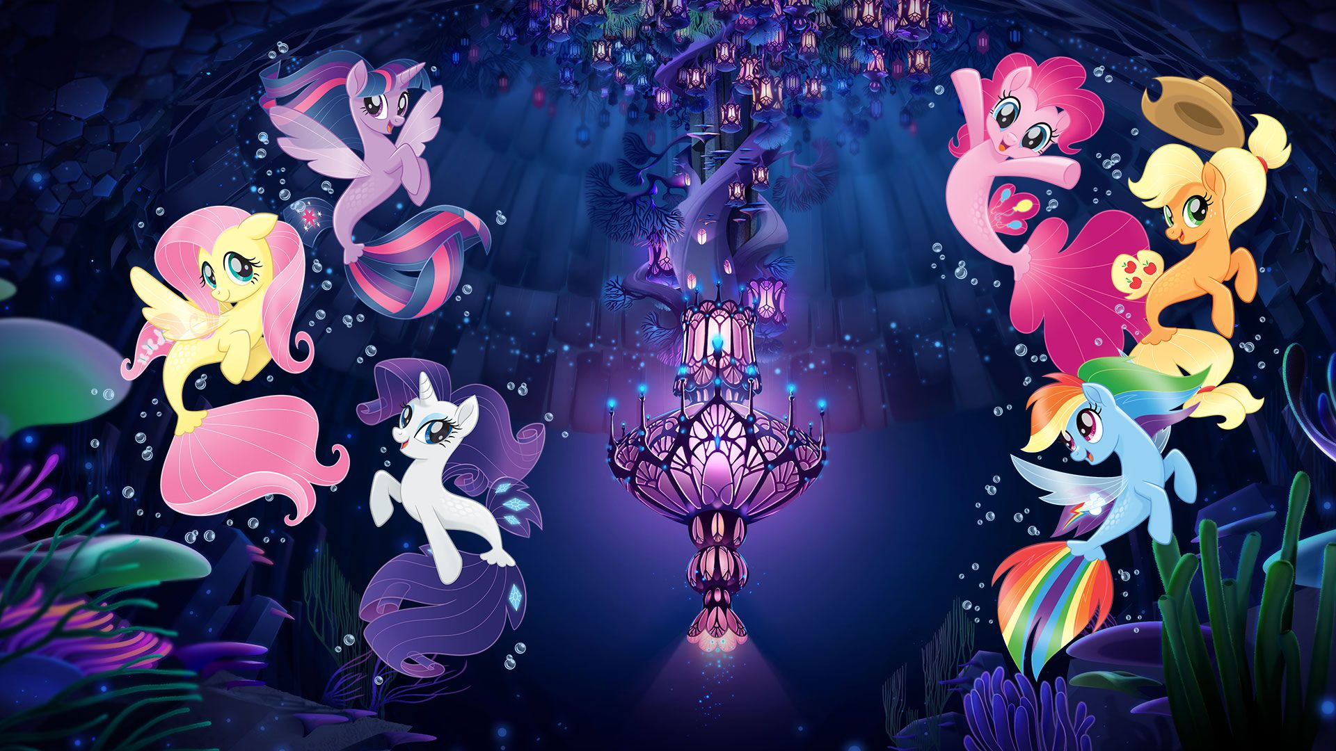 My Little Pony The Movie Seaponies Mermaids Wallpapers Mermaid