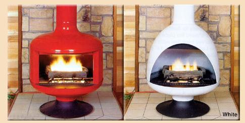 Modern Charlotte - retro fireplace malm   Toni's New home ...