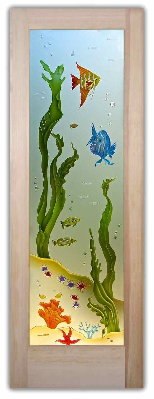 Aquarium 3d priv painted door sm gall art glass pinterest aquarium private painted glass door glass doors you customize and buy online custom designed quality sandblast etched glass designs in any decor planetlyrics Choice Image