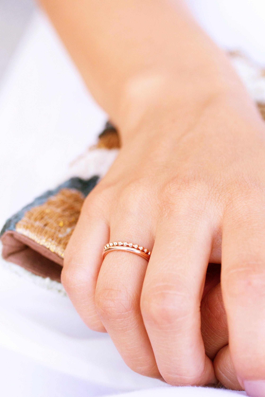 NEWONE SHOP I ringstack schmuck rosegold ringe