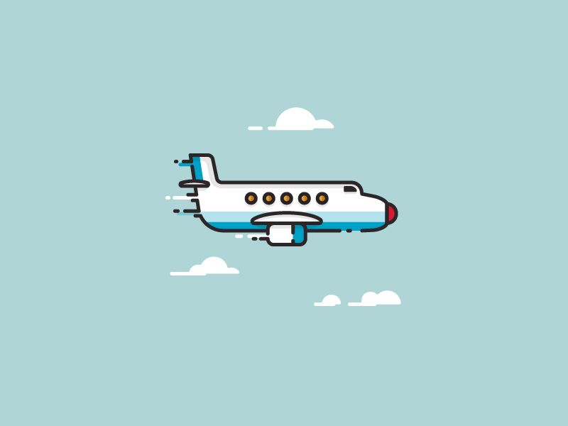 Airplane - Infographic template by Infographic Paradise #Design Popular #Dribbble #shots