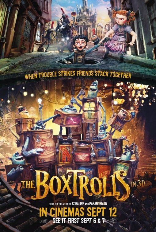 The Boxtrolls Movie Poster 9 Movie Posters Full Movies Online Free Animated Movies