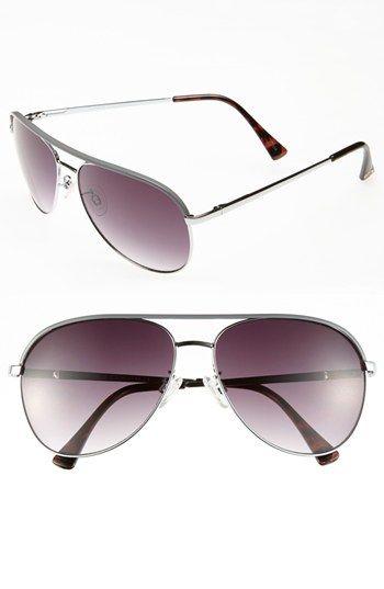 Vince Camuto Metal 60mm Aviator Sunglasses
