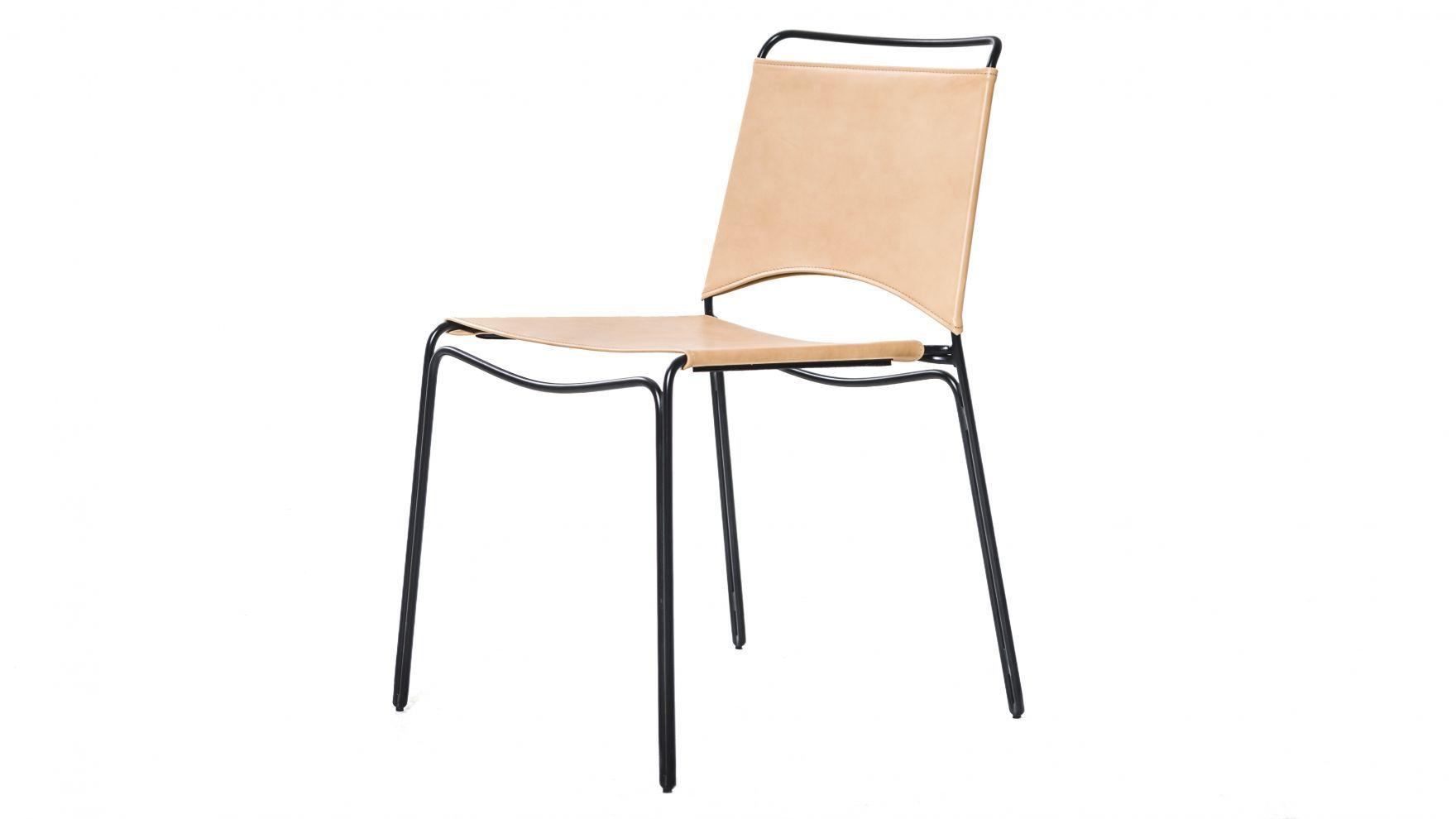 stol med skinnsits