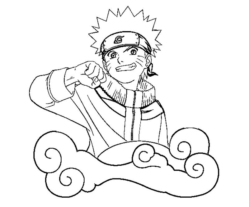 Download Uzumaki Naruto Coloring Pages Or Print