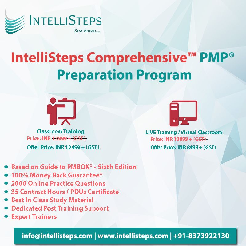 Get Pmp Certified Get Ahead Since Pmp Certification