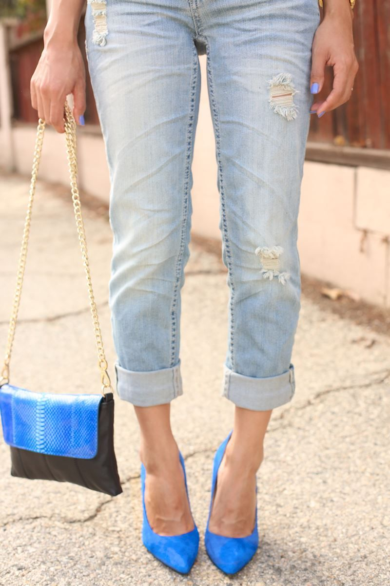 Outfit of the Day: Boyfriend Jeans | Dulce Candy