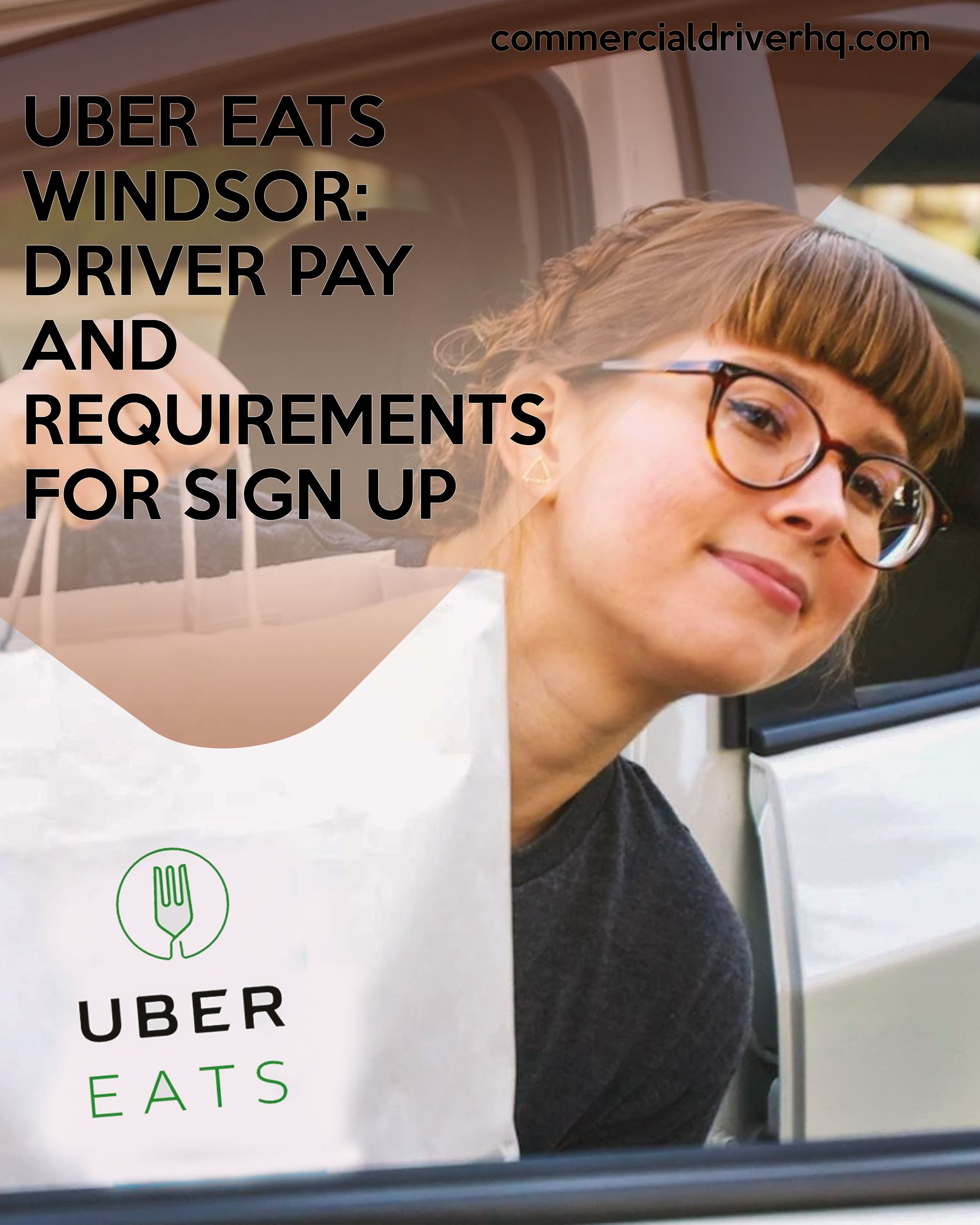 Uber Eats Windsor Driver Pay And Requirements For Sign Up
