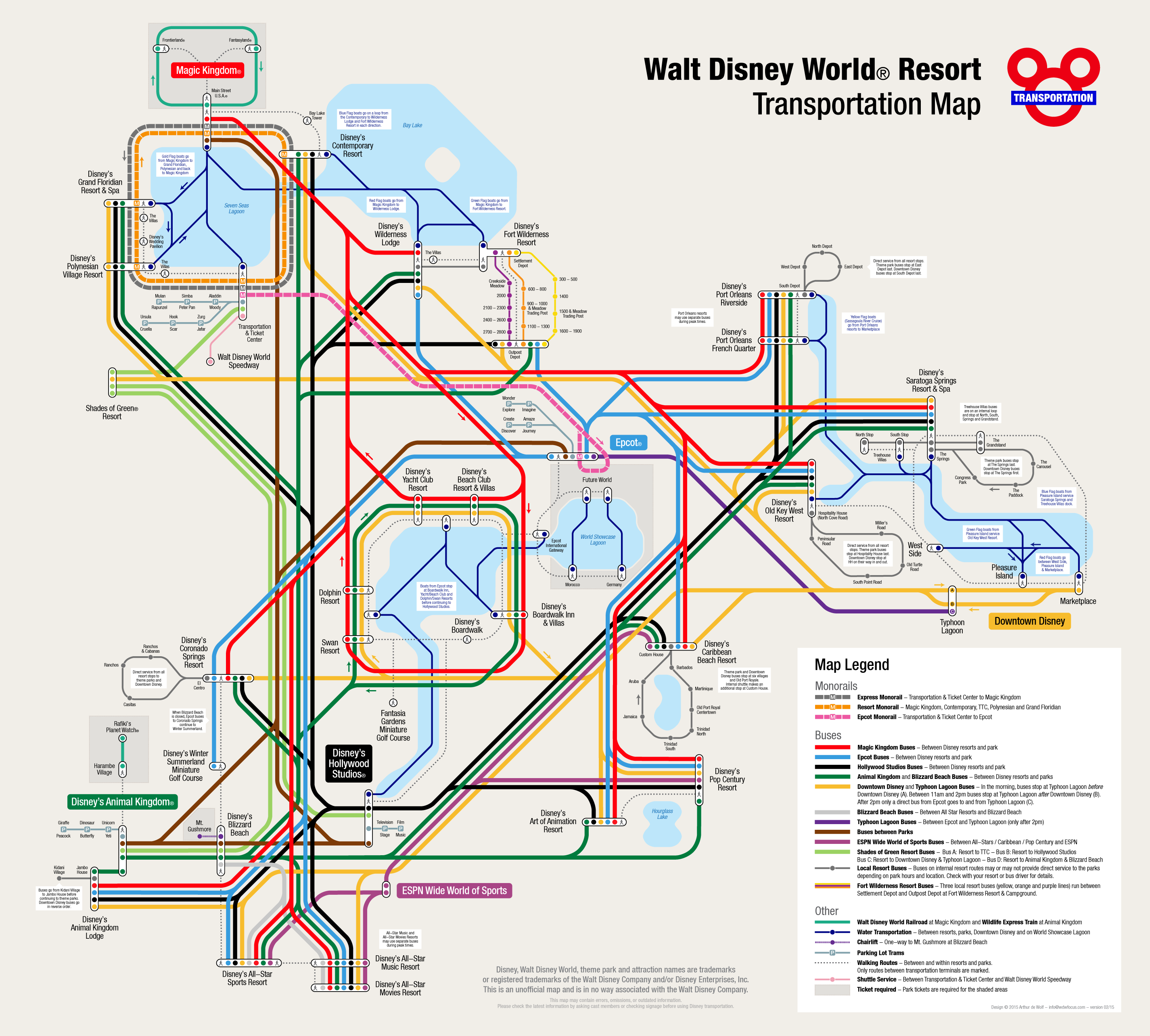 All Sizes | Walt Disney World Resort Map | Flickr   Photo Sharing!