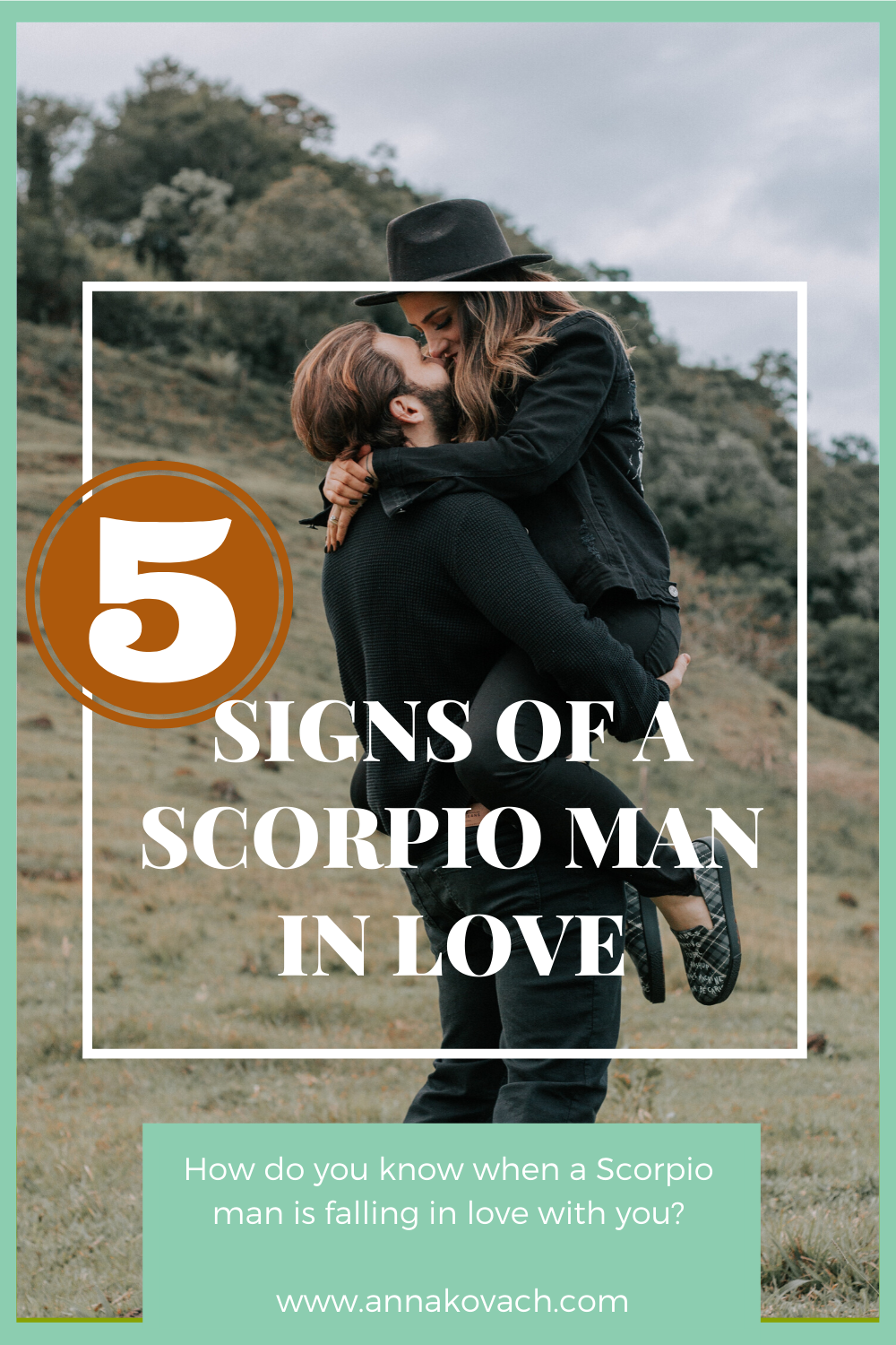 In falling is signs a man love scorpio 27 Lovely