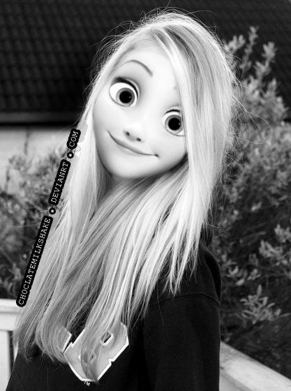 Disney Modern Edit - Rapunzel Tangled by ChoclateMilkShake on DeviantArt