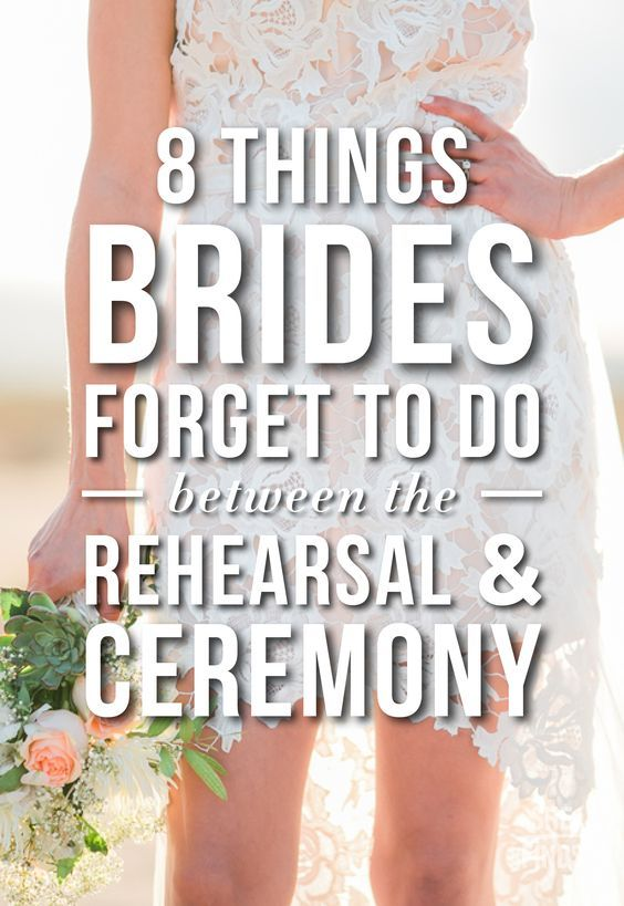 What To Do After Wedding Rehearsal   Night before wedding