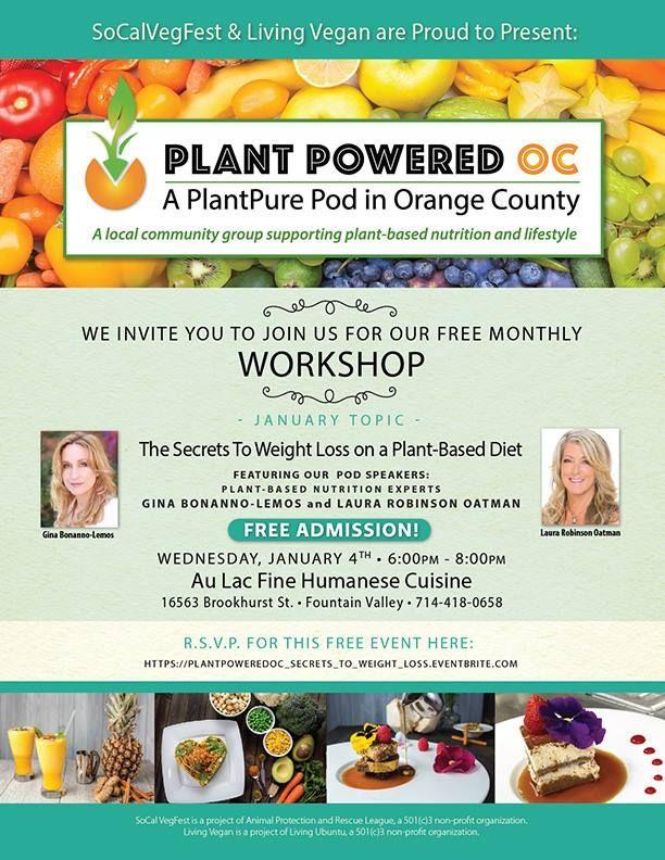 invite to vegan diet