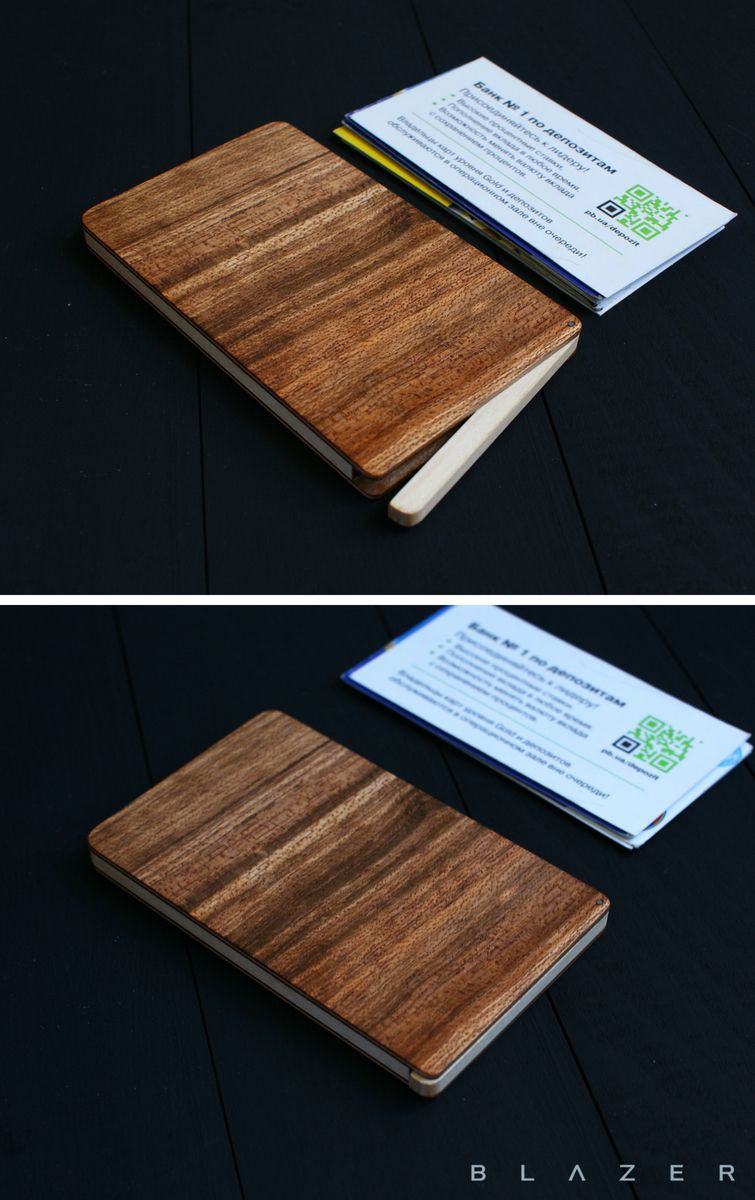 Business card case, business card holder, wood cardholder leather ...