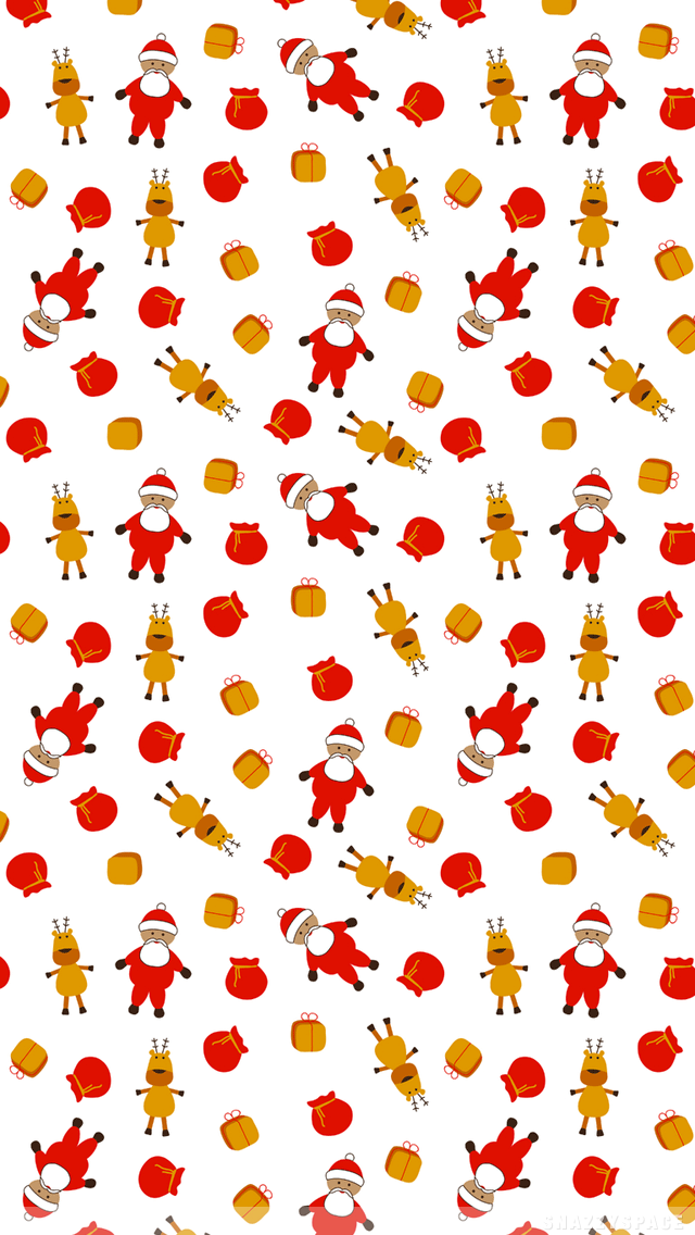 reindeer wallpaper iphone Google Search Cute christmas