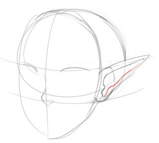 How To Draw Pointed Elf Ears Draw Central Fairy Drawings How To Draw Ears Elf Drawings