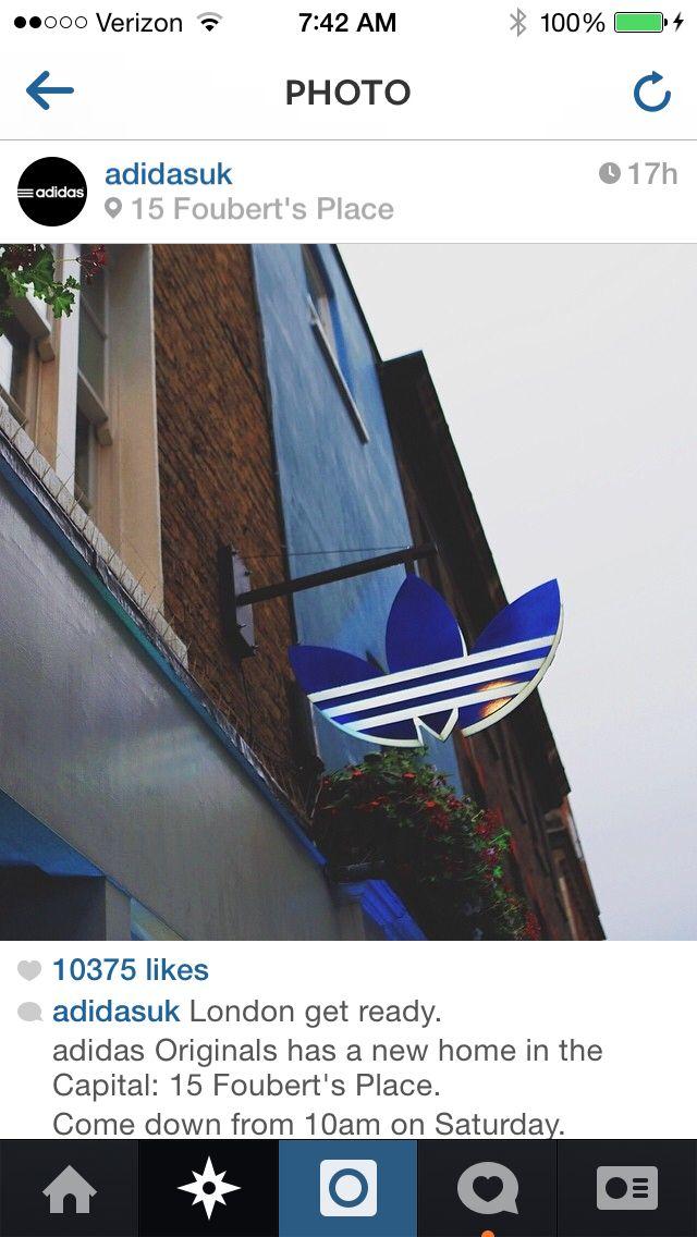 Adidas Originals London storefront! | Logos + Backgrounds