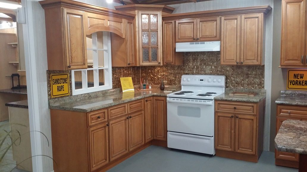 Sandstone Rope Cabinets (With images) | Wood kitchen ...