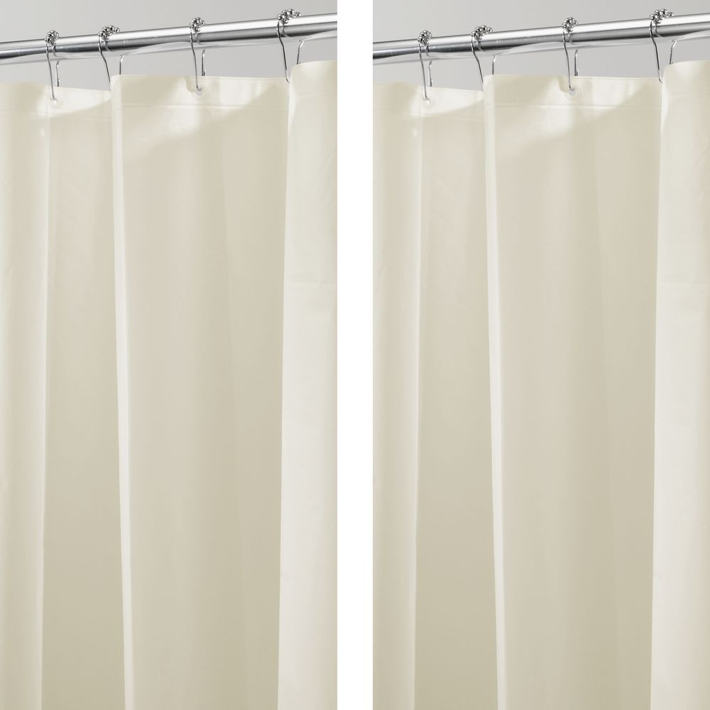 Long Peva Shower Curtain Liner For Bath 72 X 84 Vinyl Shower