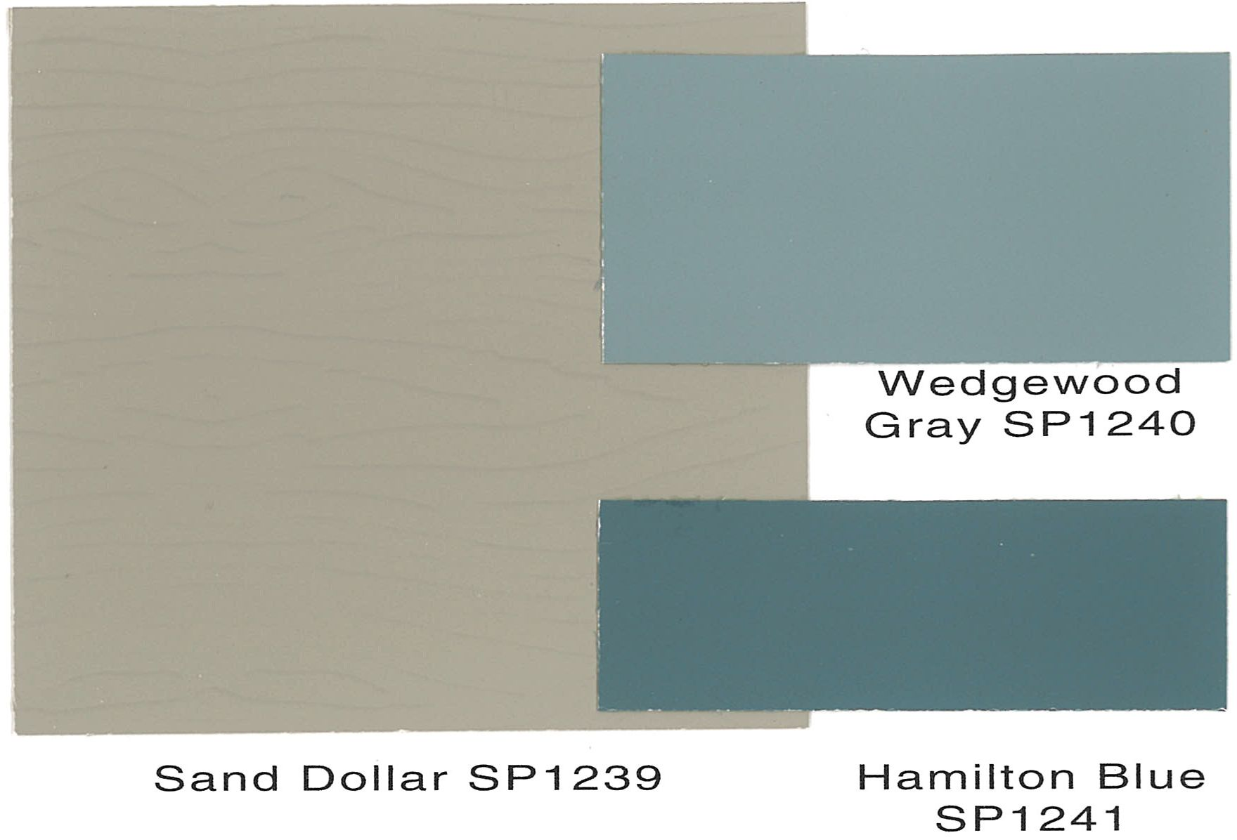 Tri Color Exterior Stain From Hallman Lindsay