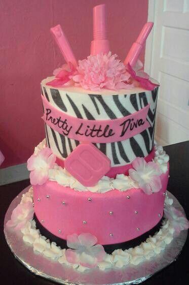 Awesome Diva Birthday Cake Diva Cakes Diva Birthday Cakes Cake Birthday Cards Printable Trancafe Filternl