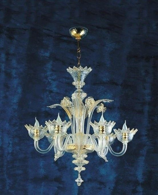 Murano Glass Chandelier 650 With Images Murano Chandelier