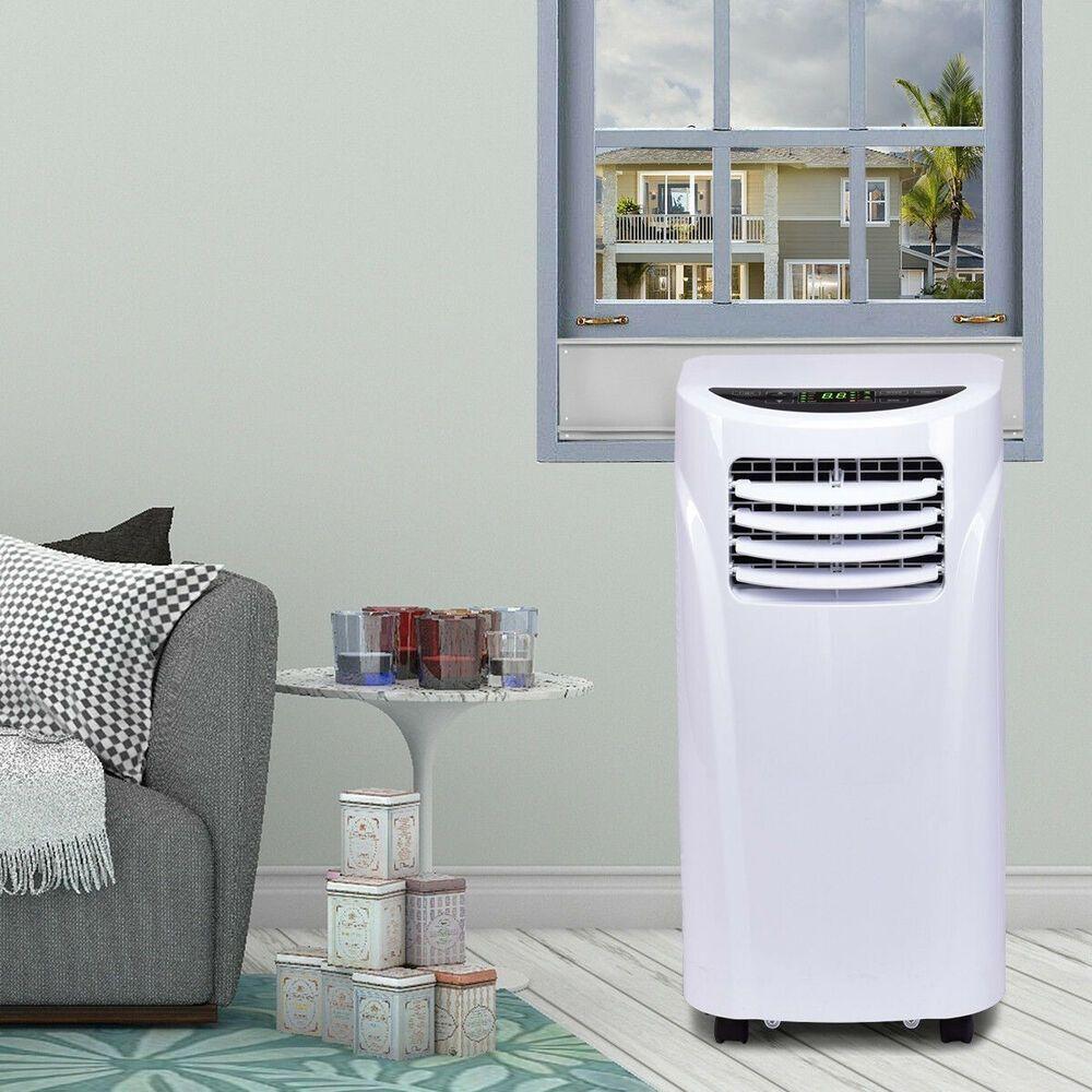 10000 BTU Portable Air Conditioner and Dehumidifier w